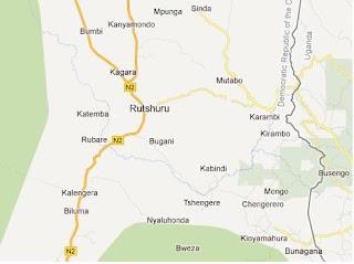 Territoire de Rutshuru au Nord-Kivu en République Démocratique du Congo