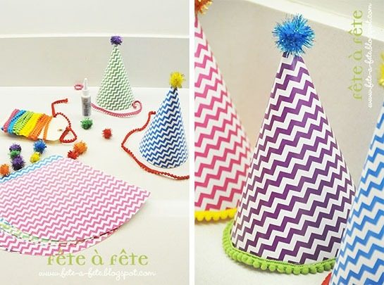 party hats - mis en place DUO2