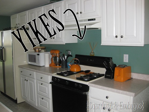 PAINT Your Backsplash Sawdust And Embryos All Things Thrifty Custom Tile And Backsplash Ideas Painting