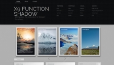 X9 function shadow blogger template 225x128