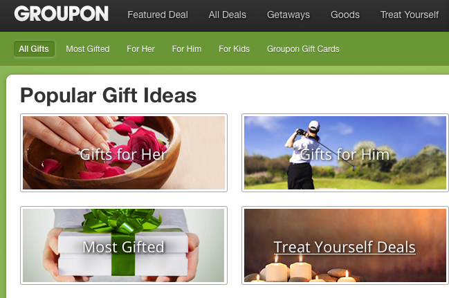 Coupon use is promoted via a kind of crowdsourcing used by Groupon