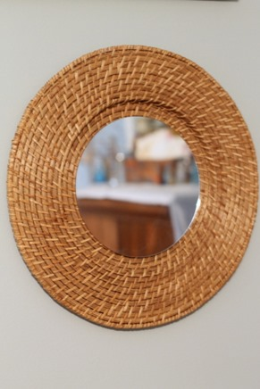 plate charger mirror