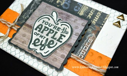 May SOTM_youve got a friend_timberline card_close up embossing  DSC_1192