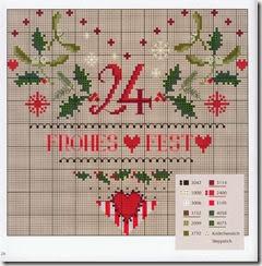 Calendario Dellavvento Punto Croce.Sara Craftroom79 Calendario Dell Avvento A Punto Croce