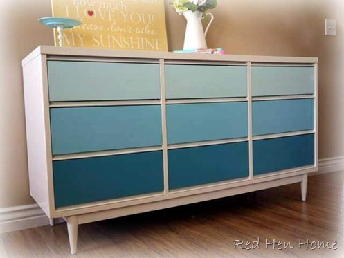 four color dresser
