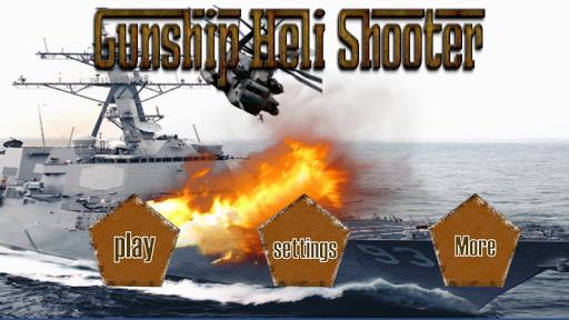 Gunship Heli Shooter