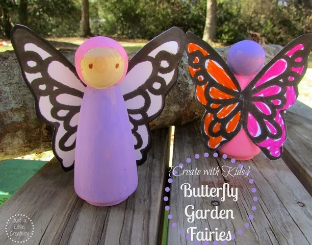 butterfly garden fairies