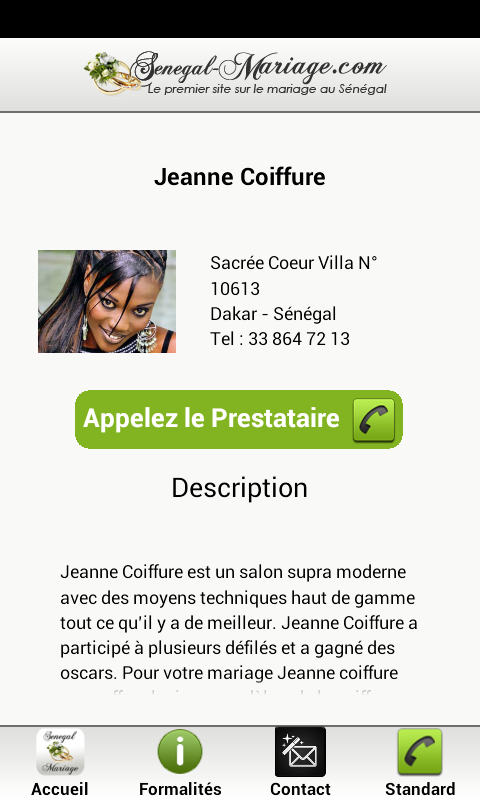 Senegal Mariage- screenshot