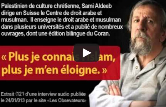 Sami Aldeeb, professeur de droit musulman : « Plus je connais l'islam, plus je m'en éloigne » (audio) dans Politique islam+Sami+Aldeeb+audio+