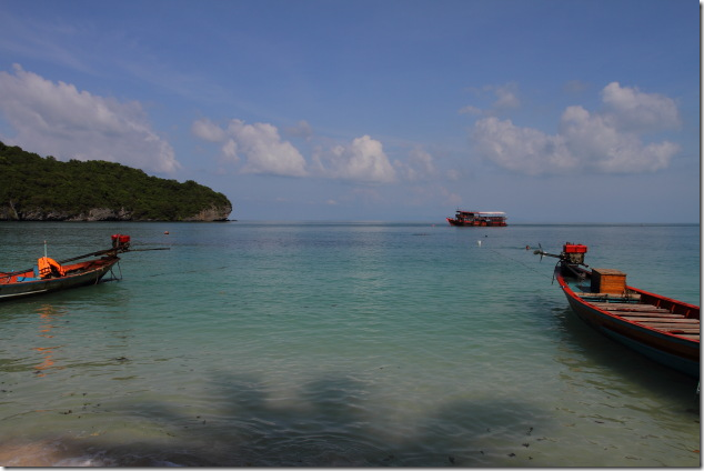 Moored Boats at Anthong