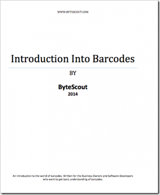 Introduction Into Barcodes