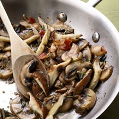 Garlic Rosemary Mushrooms