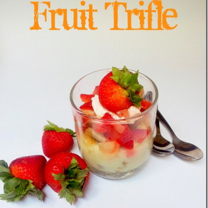 Fruit Trifle | Trifle Pudding Recipe