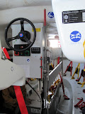 Abandon Ship drill - inside the life boat