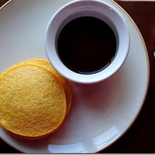 Pumpkin Cornbread Pancakes