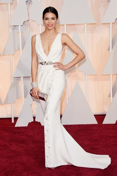 Jenna Dewan Tatum attends the 87th Annual Academy Awards