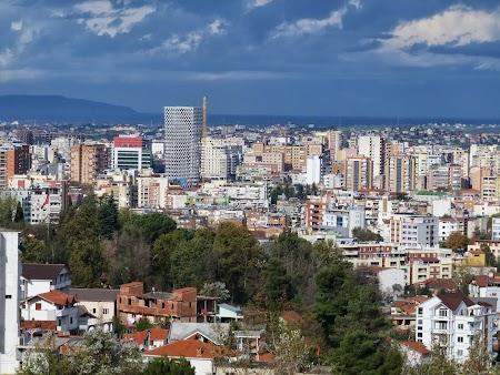 Imagini Albania: Panorama Tirana