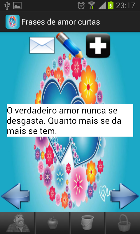 Frases amor curtas portugues - screenshot