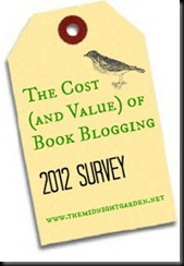 value of book blogging survey