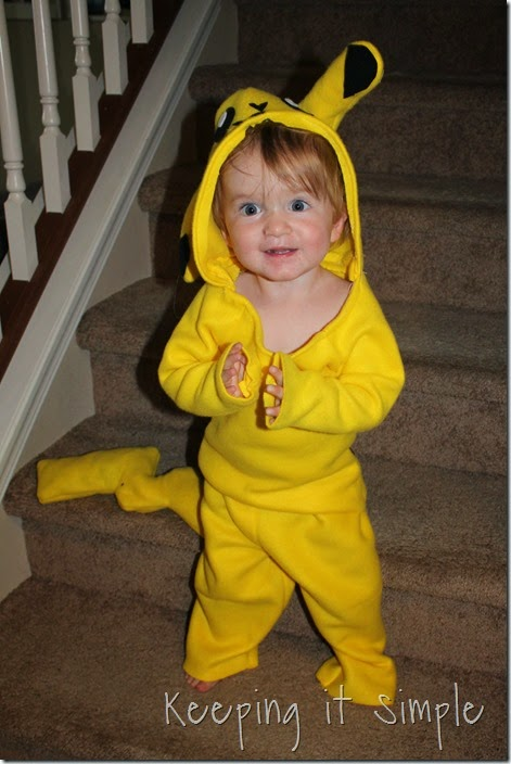DIY Pokemon Pikachu Costume (21)