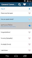 Screenshot of Learn Thai Pro - Phrasebook