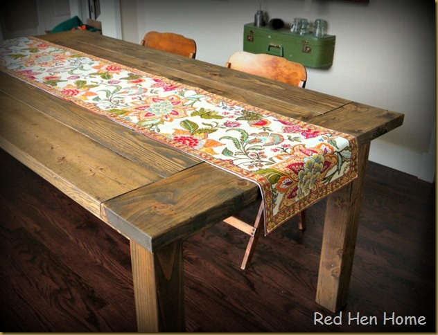 Red Hen Home Farmhouse Table 3