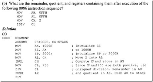 8086 assembler Manual