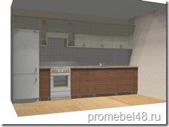 проект кухни в частный дом