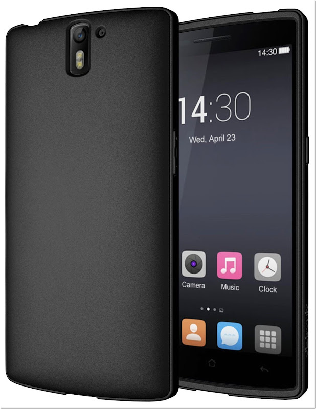 Diztronic+Matte+Black+TPU+Case+for+OnePlusOne