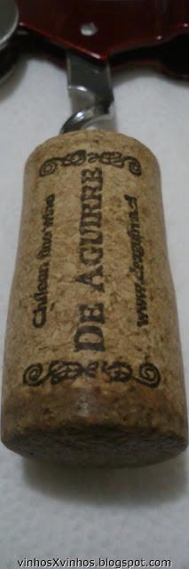 Rolha vinho branco chileno