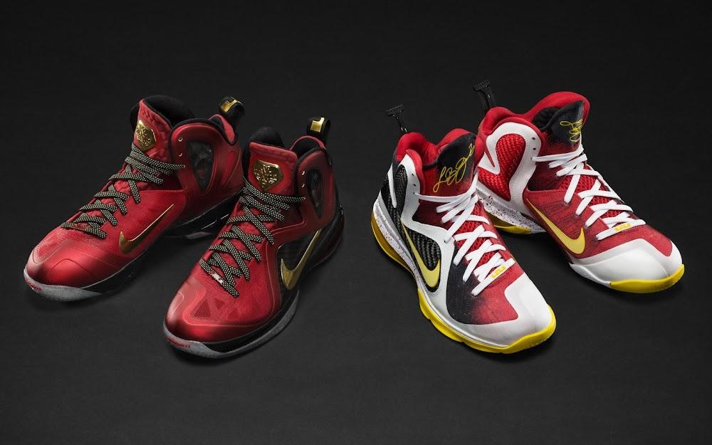 watch 392e8 2ce81 Nike Unveils LeBron 9 Elite LeBron James Championship Pack ...