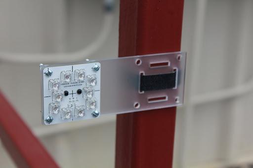 Audio Reactive Stage Lighting Rgb Led Satellite Brackets
