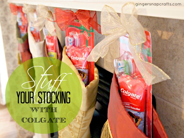 Stuff your stocking with Colgate Holiday Packs #HolidaySmiles