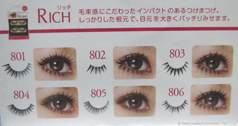 22663e9e74c The effects of different Fake Lashes