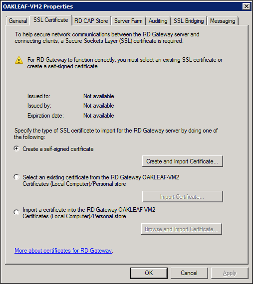 OakLeaf Systems: Enabling Remote Desktop Services in a Windows Azure