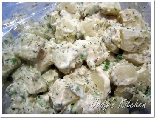 Cooks Country Dill Potato Salad Recipe