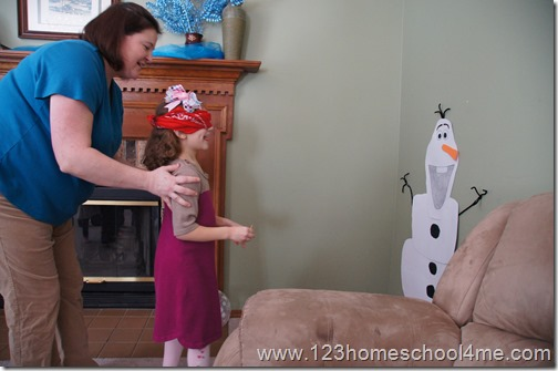 Disney Frozen Inspired Birthday Party Games