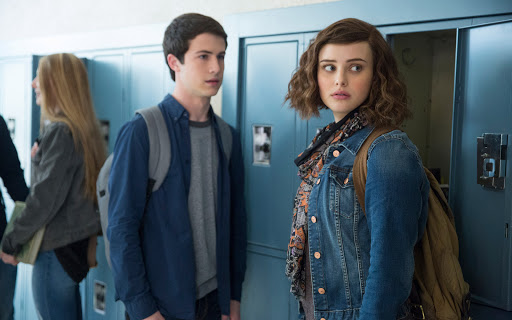 Clay & Hannah in 13 Reasons Why
