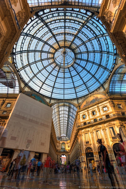 Milan shopping centre