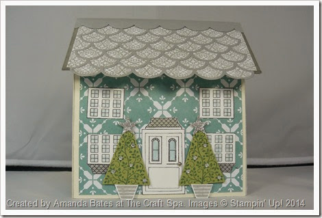 12 Days of Christmas, All is Calm House Mini Book, Amanda Bates, The Craft Spa,  (2)