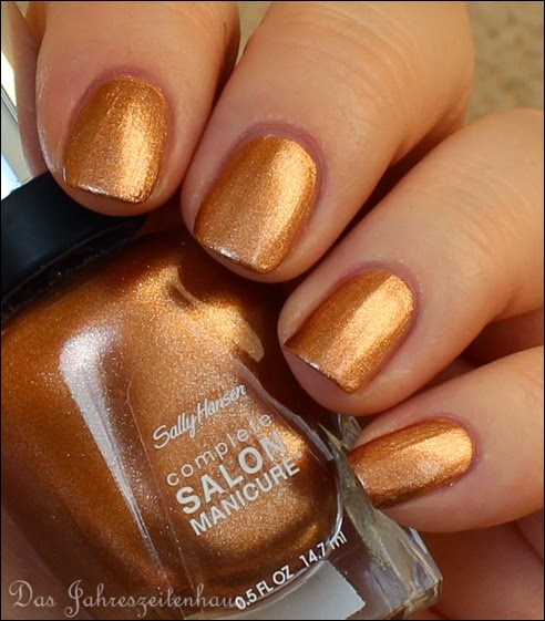 Kupfer Sally Hansen Pennies for Heaven 2