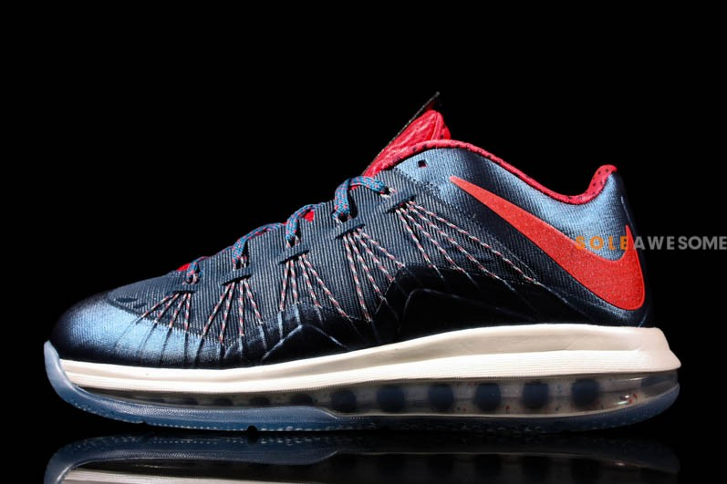 hot sale online 49322 155b5 Nike Air Max LeBron X Low in Classic USAB Colors 579765400 ...