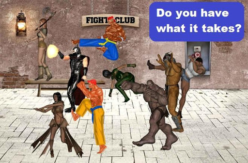 【免費動作App】Karate Chop - Fight Club-APP點子
