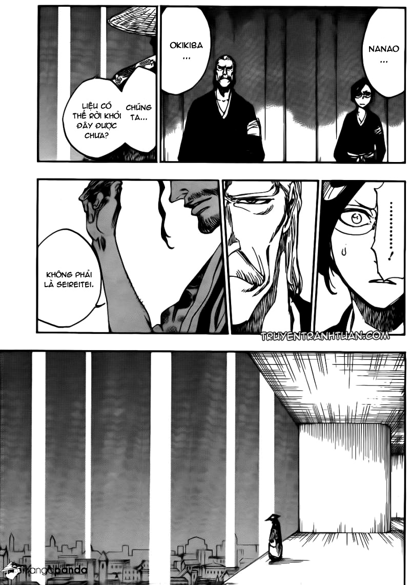 Bleach chapter 604 trang 6