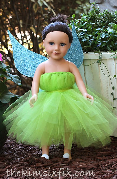 Doll Tutu Dress Tutorial