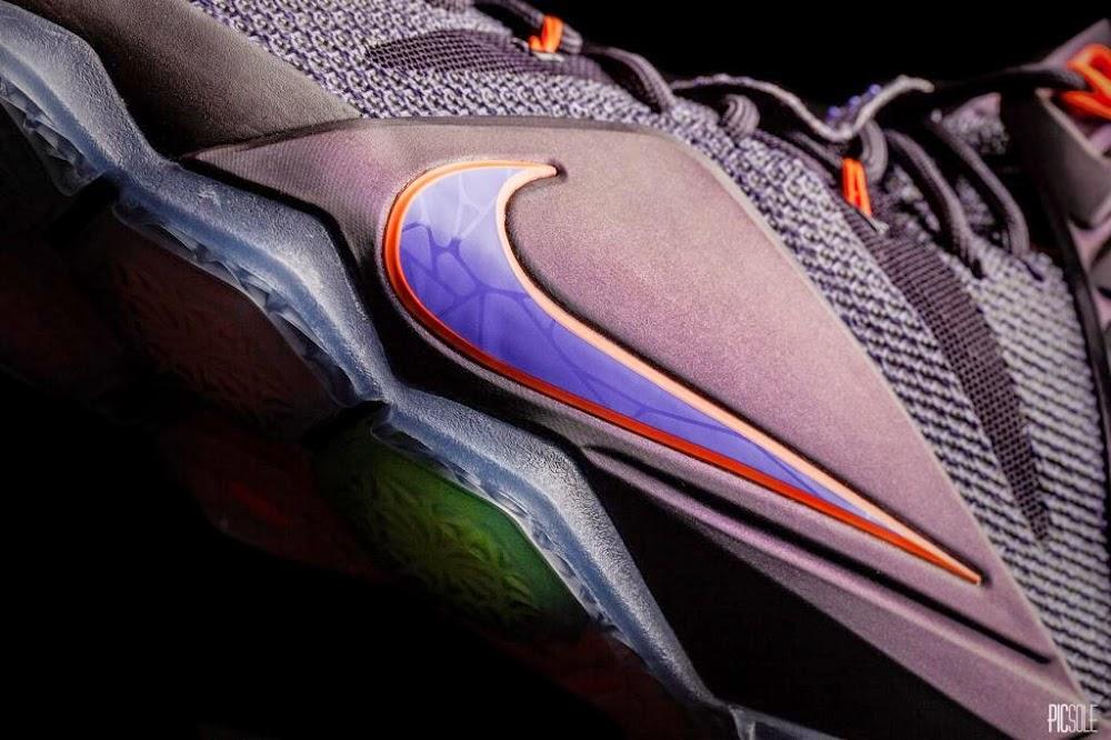 8ca2e799abdff1 684593-583 Cave Purple Hyper Grape-Hyper Crimson-Turquoise. Release  Reminder Nike LeBron 12 8220Instinct8221 Up Close amp Personal ...