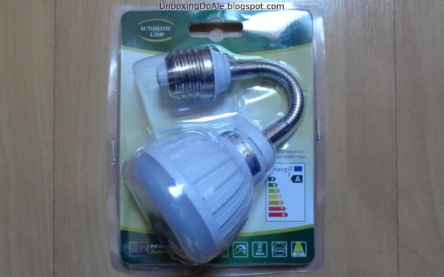 lâmpada com sensor de movimento