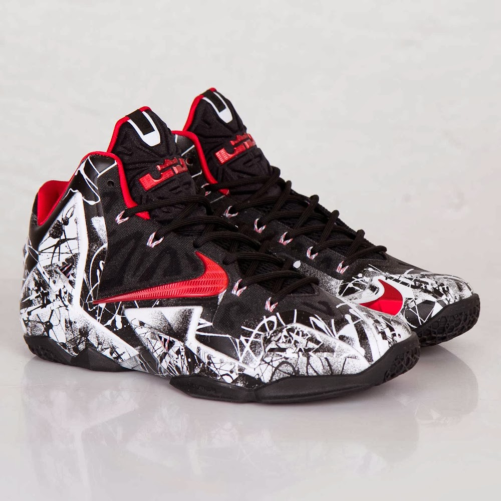 abf77dc335b0c ... One More Look at the Just Released 8220Graffiti8221 Nike LeBron 11 ...