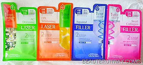 Leader's Clinic  Aquaxyl Filler, I2PL Whitening Laser, Snail Collagen Filler and AC Dressing Laser Masks