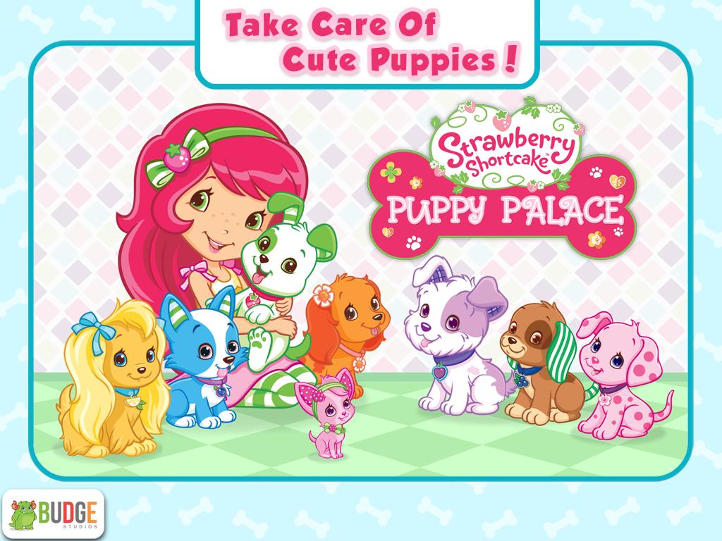 strawberry shortcake puppy screenshot
